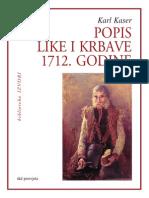 Popis Like I Krbave-1712