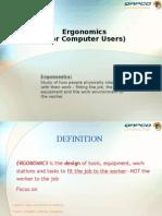 Ergonomics(Office ) 1