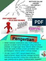 Motivasi Dalam Leader