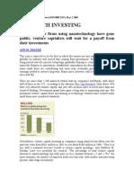 Nanotech Investing