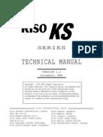 Riso KS 500 Service Manual