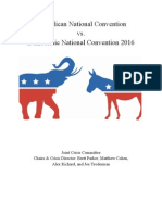 DNC/RNC 2016 Election Background Guide
