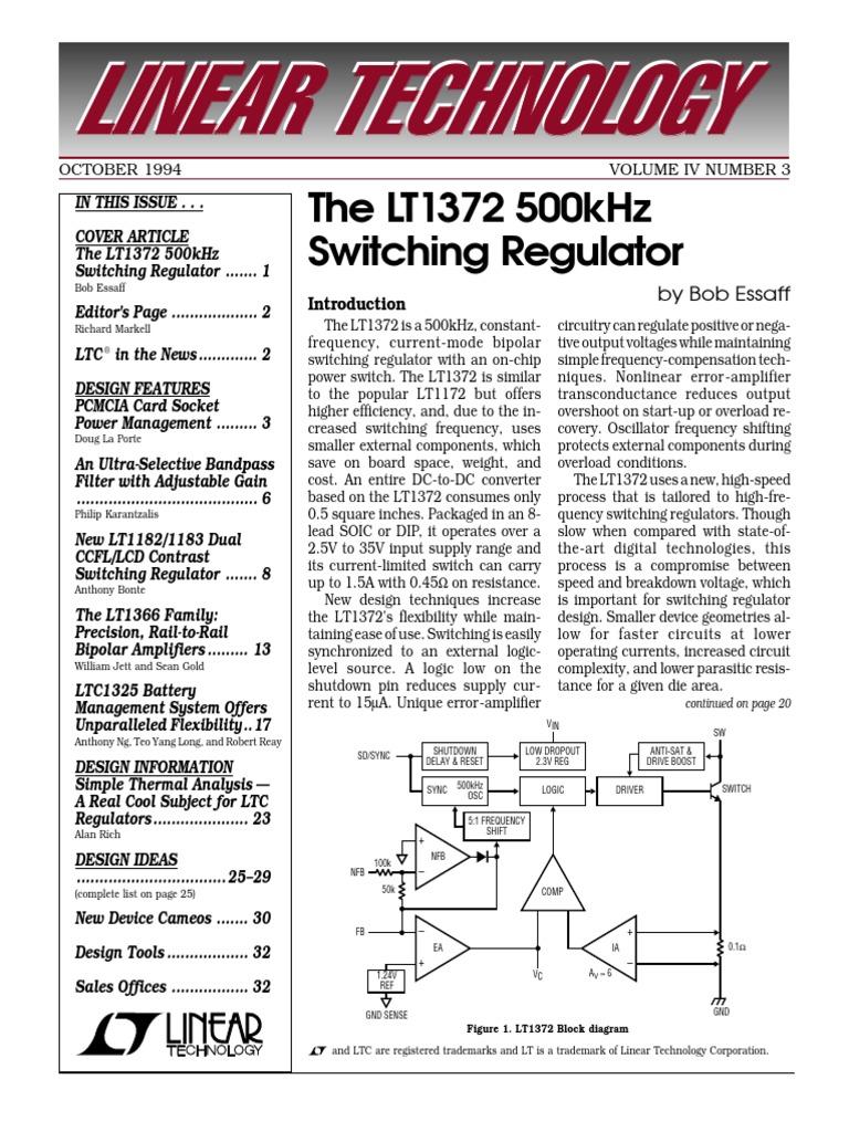 Linear Thecnology Rewue Amplifier Operational Lna Design Tutorial 4 Balanced Rf Hq