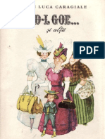 I.L.Caragiale - D-l Goe... şi alţii