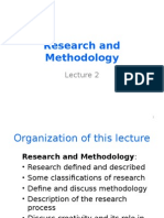 Research & Methodology Chap2