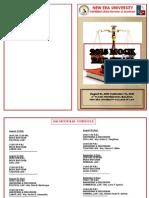 2015 Mock BAR Exam (Schedule)