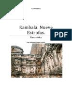 Kambala Nueve Estrofas,