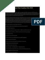 Merubah Tulisan Dan Gambar File PDF