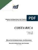 Aranceles Costa Rica 2003