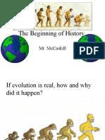 Beginnings of Civilizations