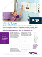 MimioTeach Wireless Interactive Whiteboard System