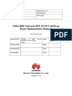 GSM BSS Network KPI (TCH Call Drop Rate) Optimization Manual V1.0