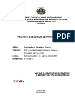 Volume 1 - Projeto Executivo