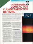 Contactos - Se Multiplican en España Contactos y Avistamientos de Ovnis R-006 Nº Extra - Mas Alla de La Ciencia - Vicufo2