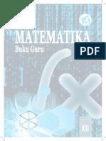Buku Guru KelasXII Matematika