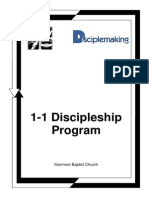 1-1 Discipleship Manual 2001 Version
