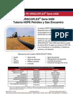 Driscoplex Hdpe Petroleo 683-s 6400 Series Flyer_spanish