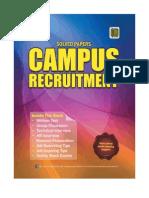 Campus Recruitment Sample Book