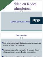 Trabajo Seguridad Redes Inalambricas - Lenci Espinoza
