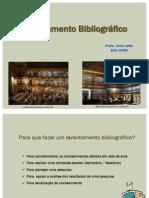 Aula Levantamento Bibliográfico