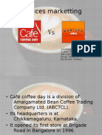 Services Marketting- CCD vs Barista