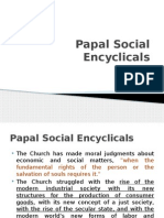 Papal Social EncyclicalsPart1-1
