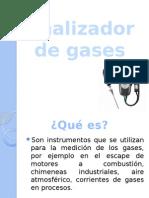 Analizador de Gas Presentacion