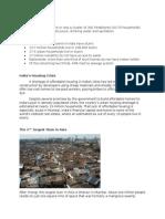 The Slums of India
