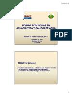 Acuacultura orgánica