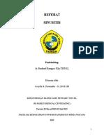 Referat Sinusitis - Assyifa a. Fernendes