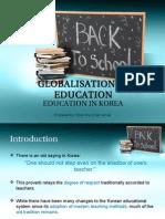 Education System in Korea