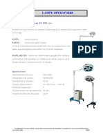 FR-Lampe Operatoire 60.000 Lux