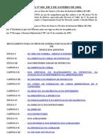 R 138 Port 001-2002 - Reg TG e Escolas de Instr Mil