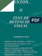 Test de Benton Retension Visual