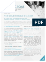 The 2015 State of Employee Engagement