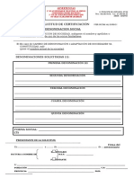 Modelo Solicitud de Certificación -EXCLUSIVAMENTE Para Las Que Se Soliciten Por Correo o Mensajería (2)