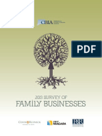 2013 Survey Of Family Businesses
