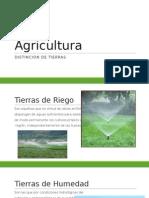 AgriCultura tipos de tierra