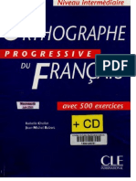 Vocabulaire progressif du francais orthographe progressive intermediare fandeluxe Image collections