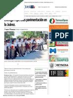 08-24-2015 Entrega Pepe Elías Pavimentación en La Juárez