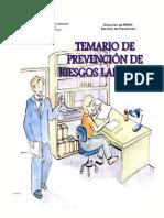Temario Para La Prevención de Riesgos Laborales