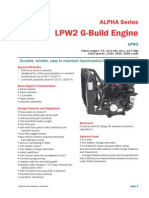Alpha LPW2 G-build Technical Data Sheet