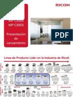 Resumen MP C6003 Presentacion en Español