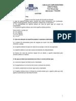 Aula Complementar - Direito Penal - Prof. Rômulo Dias -Data Da Aula 17.02.2009- ILICITUDE