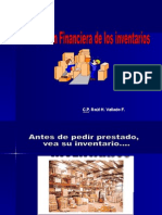 Administracion Financiera de Los Inventarios
