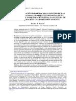 La Alfabetización Infomacional Dentro de Las Políticas Nacionales Sobre TICS