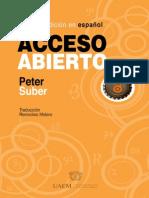 Acceso Abierto Peter Suber