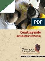 Construyendo autonomía territorial