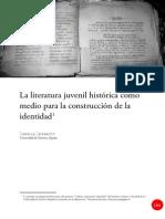 Literatura juvenil - Construccionismo social