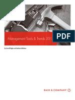 Bain Brief Management Tools 2015